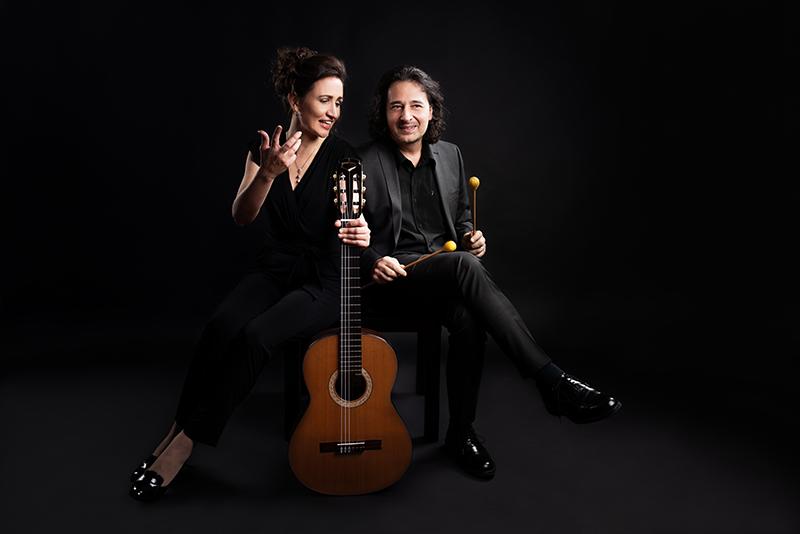 El Cimarrόn Ensemble Duo Christina Schorn-Mancinelli - Gitarre, Ivan Mancinelli – Marimba