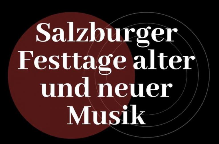 Logo der Salzburger Festtage für alte und neue Musik